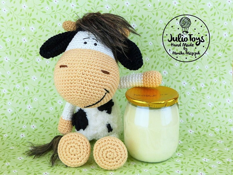 Cow Zuza  PDF crochet pattern image 0