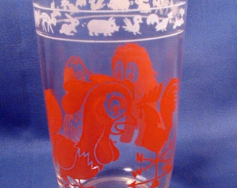 Vintage Childs Juice Glass