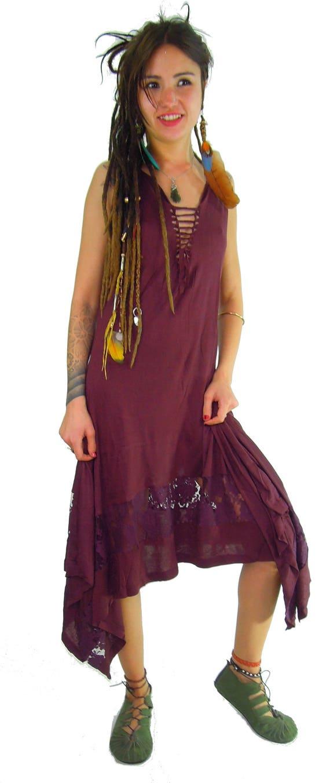 4e269fe390 Kurta gothic dress pagan clothing goa medieval dress steampunk