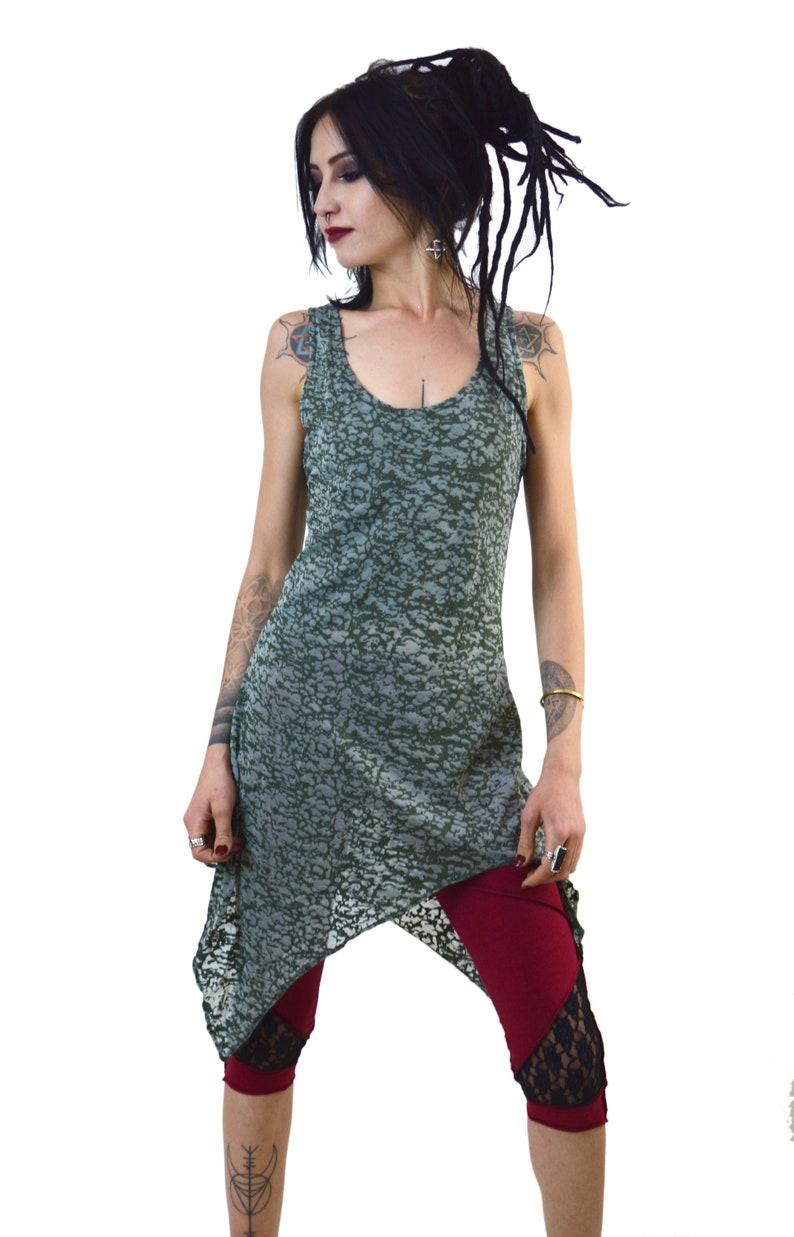 robe goth Robe Robe Boho Robe avec capuche À Capuche Robe fée lutin robe