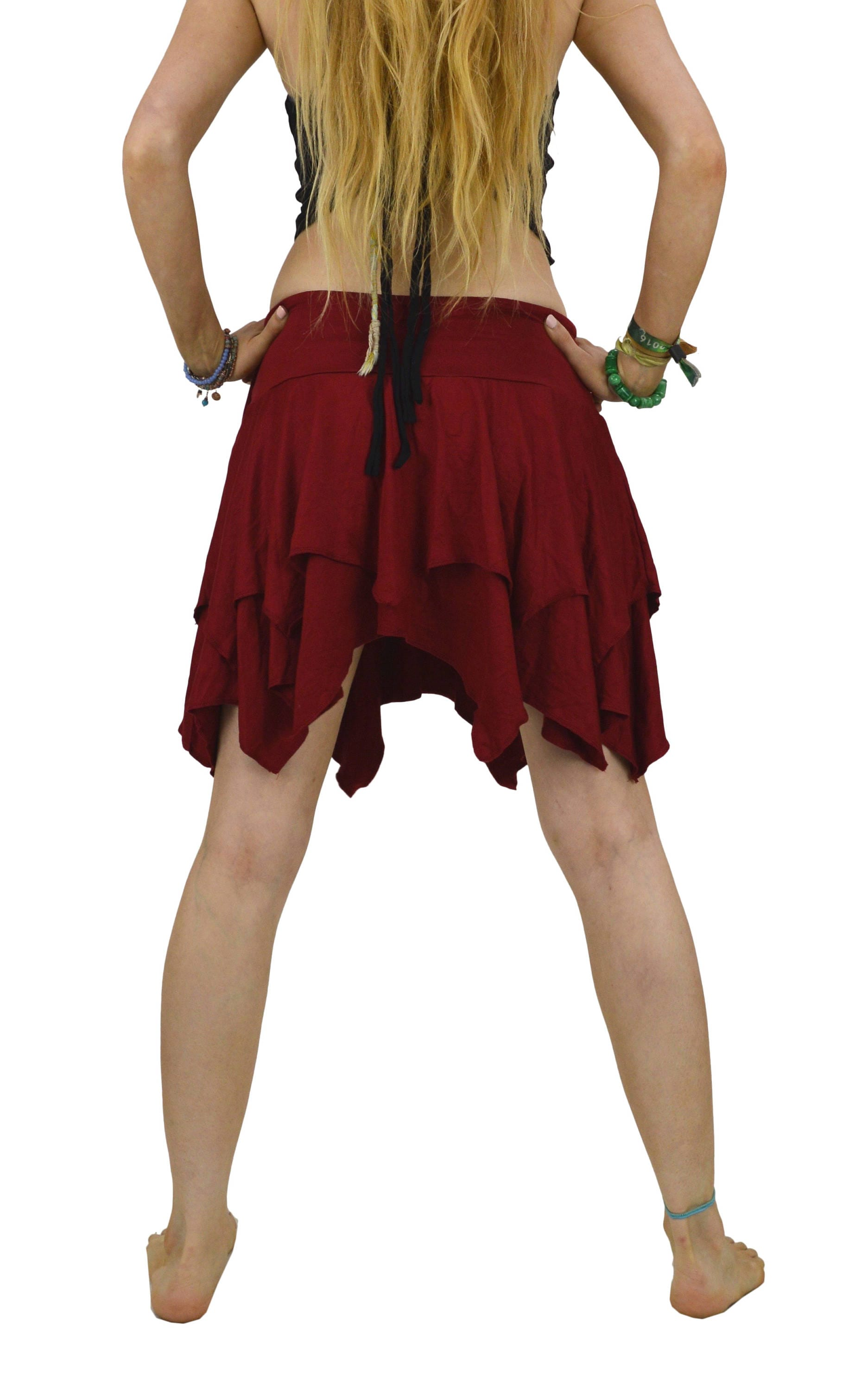 Not Clothing But Makeup Is Just As Important To Finish A: Pixie Skirt Tulle Skirt Pixie Clothing Hippie Clothes