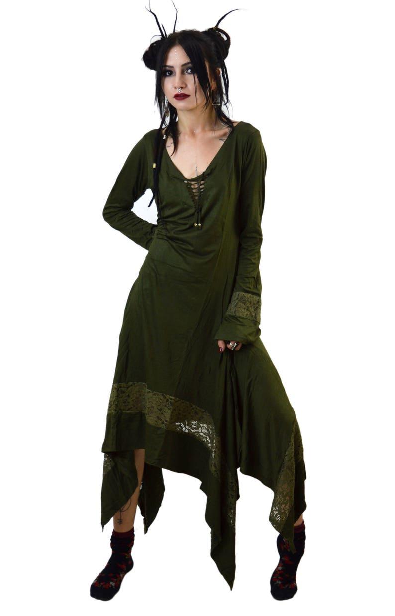 fe892016b7 Kurta gothic dress pagan clothing medieval dress steampunk clothing  aesthetic cl... Kurta gothic dress pagan clothing medieval dress steampunk  clothing ...