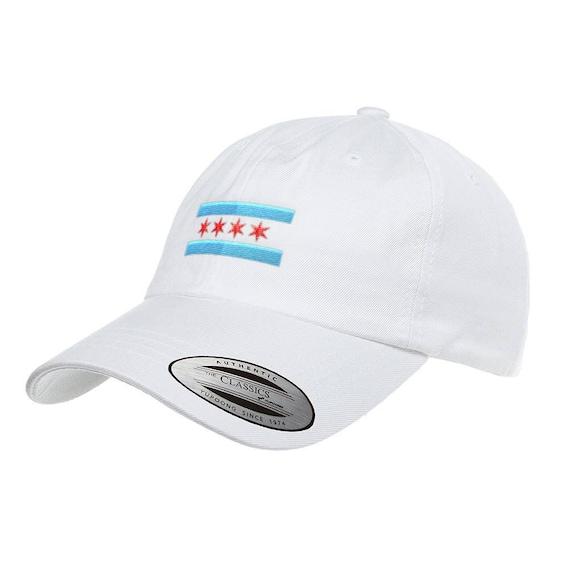 004295bbcf2 Chicago Flag Dad Hat Low Profile Cotton Twill 6245CM