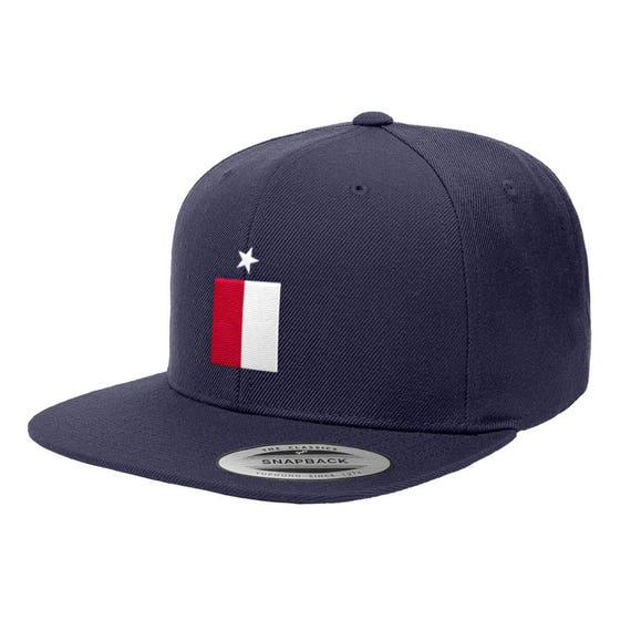 Texas State Flag Premium Classic Snapback Hat 6089M  f472803ca82f