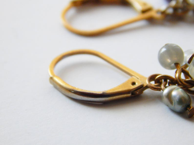Avon Designer Tiger Eye Necklace Earring Set Pierced Earrings Multi Stone Vintage Jewelry Signed Avon SP Unique Y Necklace Great Gift Idea