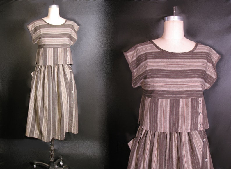 adad42f39baa Women s Striped Dress Suit. Two Pieces Skirt Blouse The