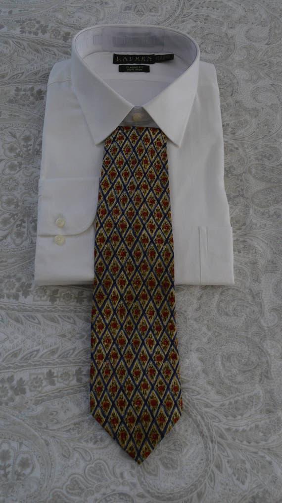 ultimo stile garanzia di alta qualità Più affidabile Cravatta vintage, Cravatte Valentino, Valentino, floreale cravatta,  cravatta di seta, cravatta, cravatta di seta Vintage di seta