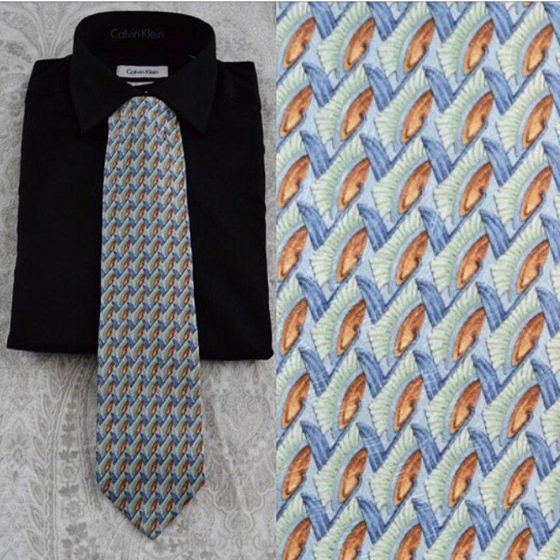 3bcb6c69 1990s Ermenegildo Zegna Silk Tie, Silk Necktie, Silk Tie, Ermenegildo  Zegna, Necktie, Ties
