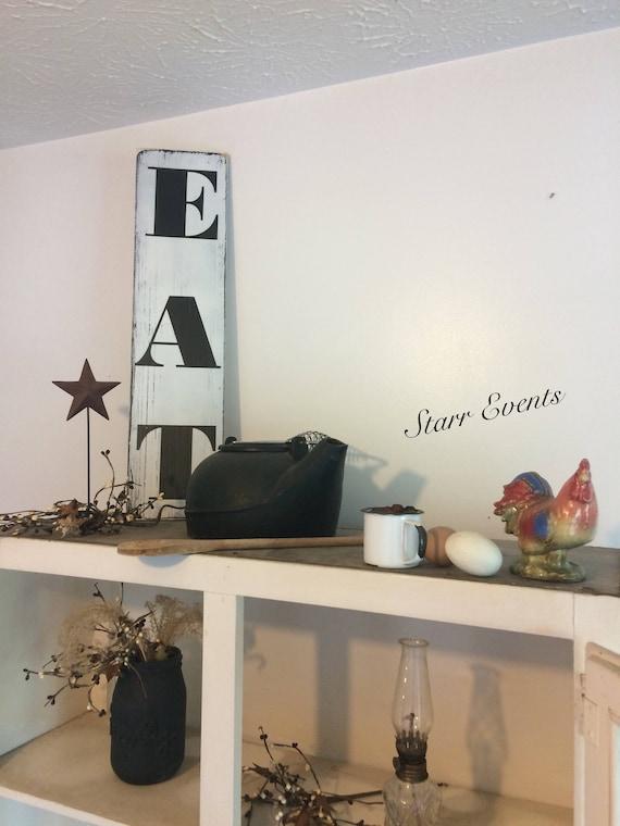 eat sign. kitchen signs. kitchen decor. farm signs. farm | etsy