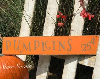 Fall decor. Rustic Fall signs. Pumpkins sign. Great fall decorations. Thanksgiving decorations. Porch signs. Fall porch signs. Autumn decor.