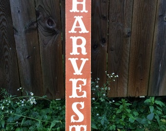 Fall decorations. Fall signs. Harvest wooden sign. Great fall decor. Thanksgiving decorations. Porch signs. Fall porch signs. Autumn decor.