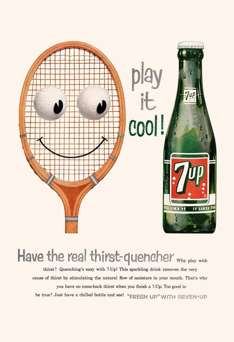 Retro Mid-Century Advertisement Classic Drink Ad FUNNY NOSTALGIC POSTER 1950/'s Soda Drink Print Soda Pop Poster