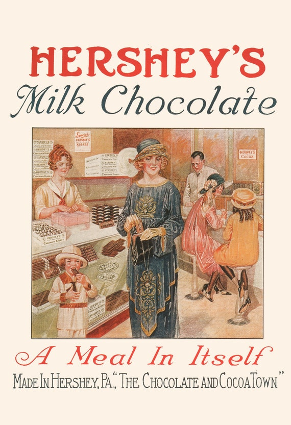 ANTIQUE CHOCOLATE POSTER Delacre Chocolate Ad Kitchen Chocolate Lover Gift