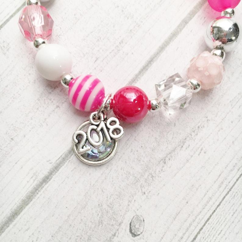 4  Love Valentine 2019 DIY Charm Bracelet Birthday or Slumber Party Activity DIY Bracelet Valentine Party Favor Love Sweet 16 Valentine gift