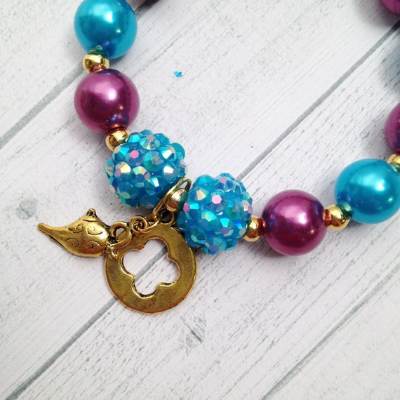 8 Princess Jasmine Pearl Genie Lamp & Mosaic Birthday Party | Etsy