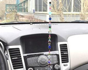 Car Rearview Mirror Suncatcher (Bohemian)