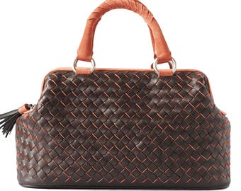 Leather Bag Valise Aurora Leather Tote Bags, Designer Handbags on Sale 481875423a