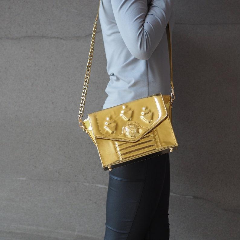 Leather Women's Crossbody Envy Unique Handbags Handmade image 0