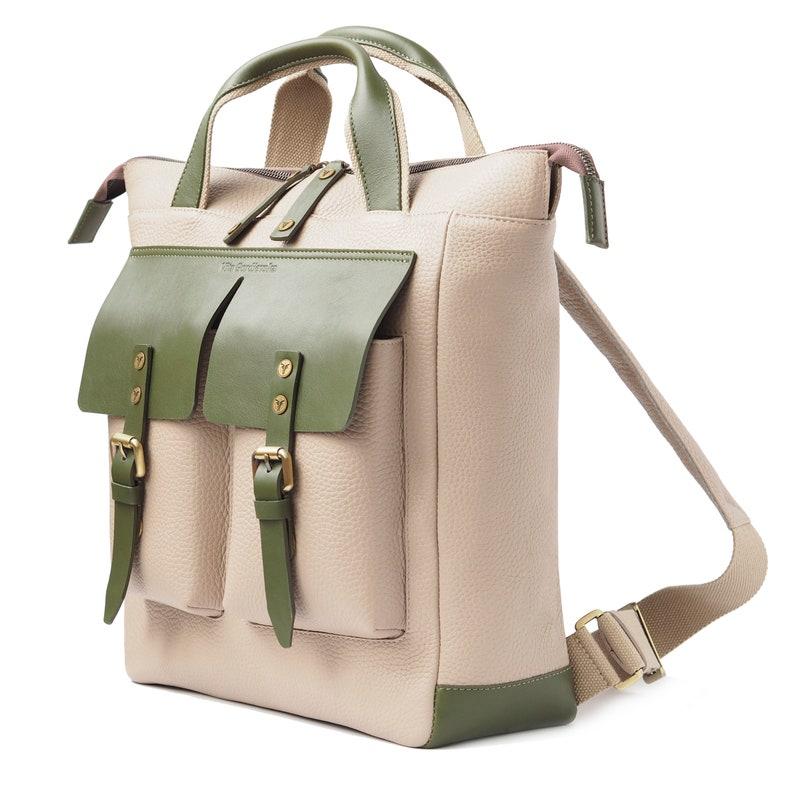 0d18276d4fa4 Leather Backpack Lynx Handmade Designer Handbags on Sale