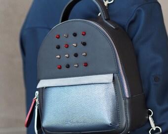 Leather Backpack Juice Unique Handbags Handmade, Handbag Leather, Designer Handbags, Backpack on Sale Vita Gordievska