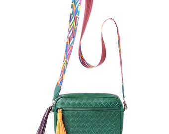 Leather Crossbody  Women's Pocket Unique Handbags Handmade, Handbag Leather,  Designer Handbags on Sale