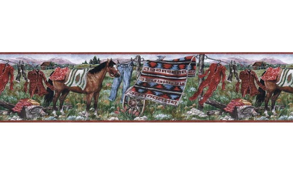 Horses MRL2431 Wallpaper Border