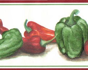 Hot Pepper  7460488 Wallpaper Border