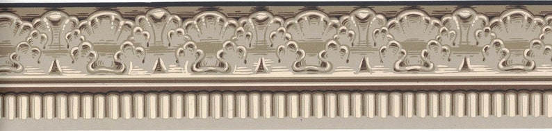 Vintage VT743389B Wallpaper Border