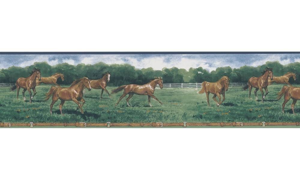 Horse 203B25575 Wallpaper Border
