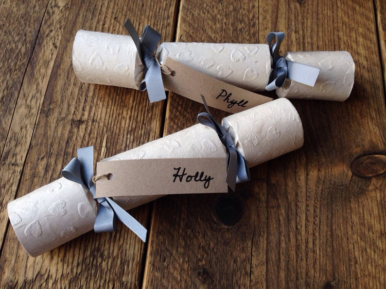 Handmade Wedding Favour Crackers  Rustic Wedding  Wedding image 0