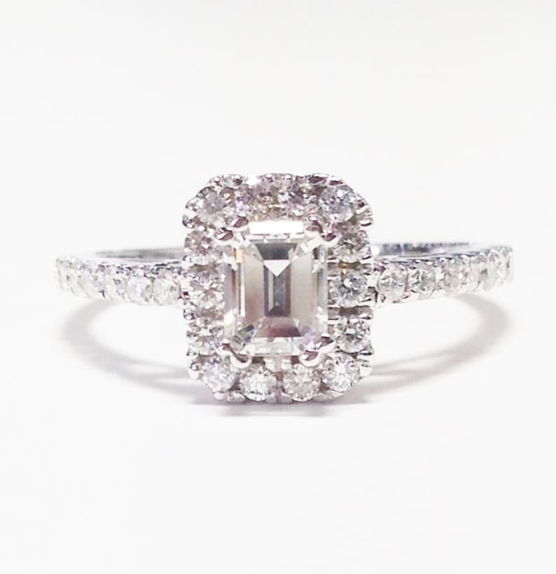 1//4 Ct Diamant Tissage Bracelet Jonc