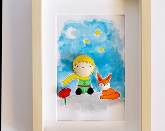 the little prince inspired frame
