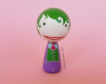 Joker Kokeshi by Monigotadas / Joker 2,95  inches