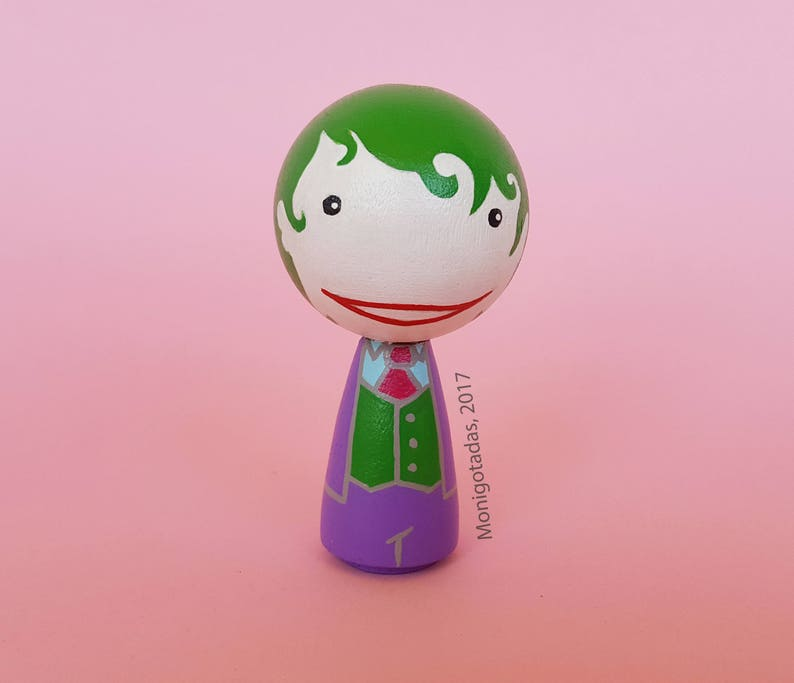 Joker Kokeshi by Monigotadas / Joker 295  inches image 0