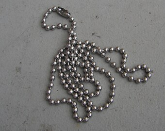 Stainless Steel Ball Chain 18""