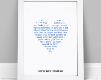 PERSONALISED Presents Gifts For Daddy Dad Father From Son