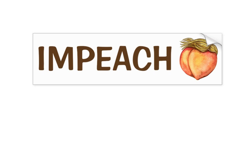 IMPEACH Trump bumper sticker Anti-Trump ...