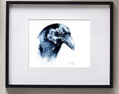 Crow (original watercolor)