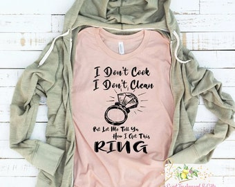 Engagement shirt - I got the ring t-shirt - Bride to be shirt -
