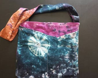 Tie Dyed Simple Purse