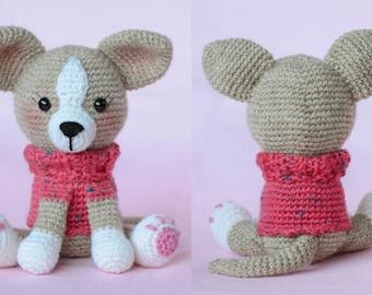 Crochet Pattern - My Little Chihuahua