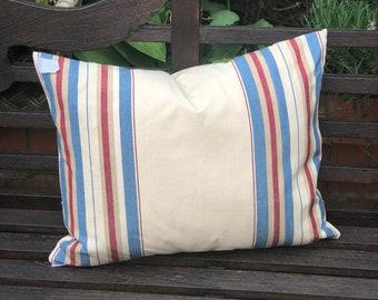 Sailing Stripes Feather Cushion