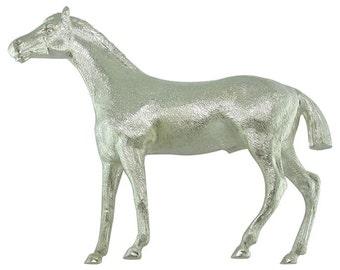 Vintage Silver Horse Model