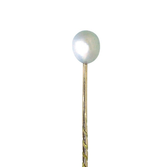 Antique Pearl Tie Pin