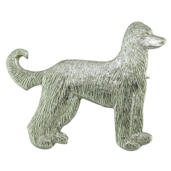 Afghan Dog Brooch