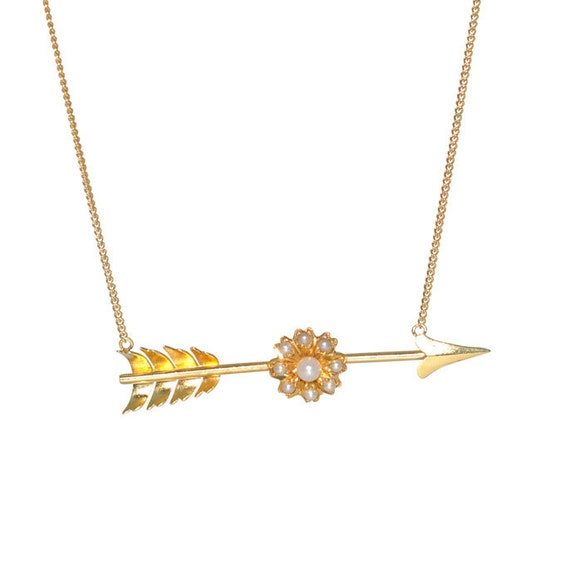 Vintage Arrow Necklace