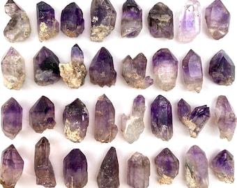 ONE Brandberg Amethyst (Namibia), amethyst crystal, amethyst point, natural amethyst, elestial amethyst