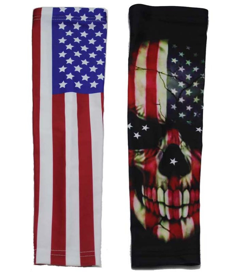 6a8b314f7f Stars Stripes American Flag Halloween USA Flag Skull digital | Etsy