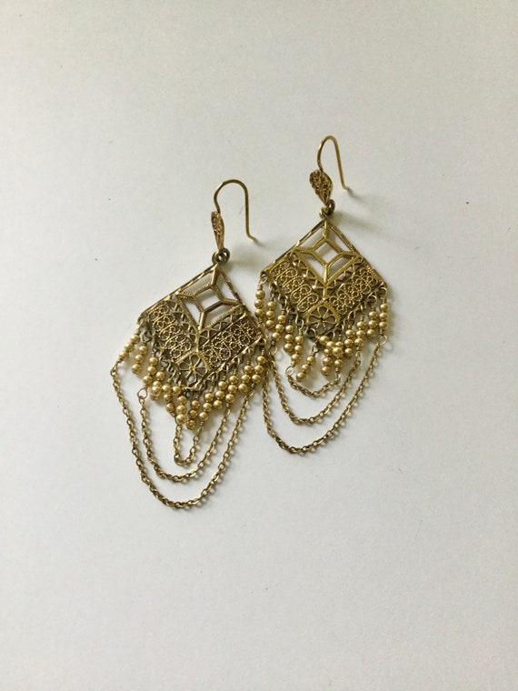 ANCIENT HISTORY vintage Victorian Revival Earrings