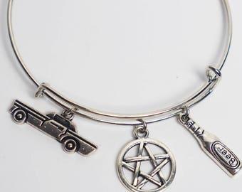 Supernatural Jewelry Dean Winchester Bracelet